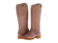 Frye Veronica Slouch Grey Soft Vintage Leather Women's Pull On Boots Taupe