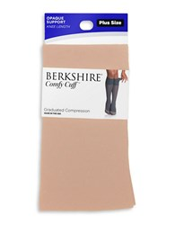 Berkshire Opaque Compression Trouser Socks Nude