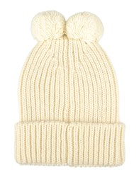 George J. Love Accessories Hats Ivory