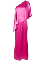 Zac Posen Isabella Gown Pink And Purple