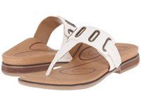 Aetrex Zara Antique White Women's Sandals