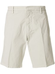 Dondup Tailored Deck Shorts Nude And Neutrals