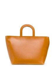 Building Block Classic Tote Bag Brown