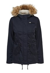 Only Winter Jacket Blue Graphite