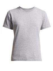 Hanes X Karla The Crew Cotton Blend T Shirt Grey
