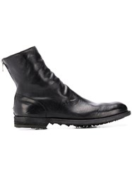 Officine Creative Sock Boots Black