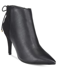 Thalia Sodi Taavi Pointed Toe Booties Only At Macy's Women's Shoes Black