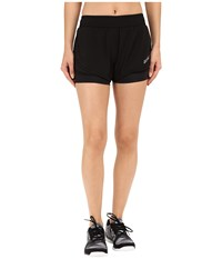 2Xu Pace 2 In 1 Shorts Black Black Women's Shorts