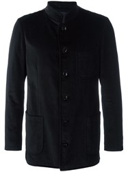 Massimo Piombo Mp Buttoned Jacket Black