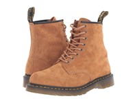 Dr. Martens 1460 Tan Soft Buck Lace Up Boots Brown