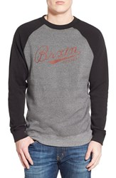 Men's Brixton 'Fenway' Raglan Fleece Sweatshirt