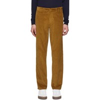 Norse Projects Tan Corduroy Aros Trousers