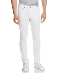 Boss Delaware Straight Fit Jeans In White