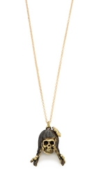 Monserat De Lucca Virgo Zodiac Necklace Gold