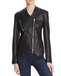 Blank Nyc Blanknyc Collarless Faux Leather Moto Jacket Power Trip