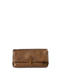 Granada Metallic Leather Clutch Bag Tomas Maier