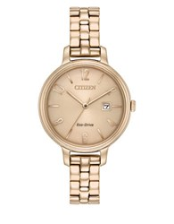 Citizen Eco Drive Stainless Steel Watch Two Tone