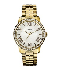 Guess Ladies Goldtone Gorgeous Luxe Oversized Watch
