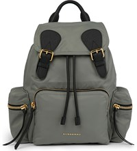Burberry The Rucksack Backpack Thistle Grey