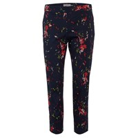 Great Plains Women's Atomic Slim Trousers True Navy Multi