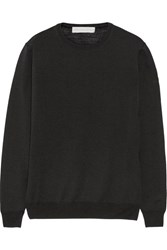Stella Mccartney Wool And Silk Blend Sweater Black