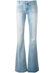 The Seafarer Straight Leg Jeans Blue