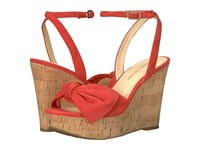 Ivanka Trump Heibo Medium Red Women's Wedge Shoes