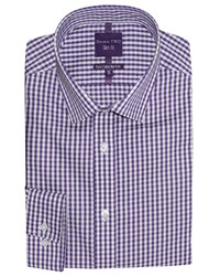 Slim Fit By Double Two Formal Shirt Purple