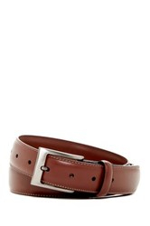 Original Penguin Timothy Leather Belt Brown