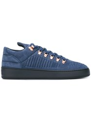 Filling Pieces Woven Detail Sneakers Blue
