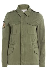 Zadig And Voltaire Army Shirt Green