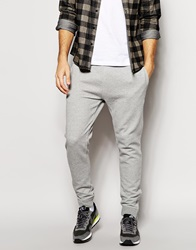 New Look Slim Fit Joggers With Zipped Hem Grey