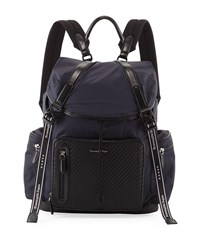 Ermenegildo Zegna Special Denim Backpack Blue
