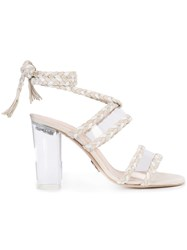 Ritch Erani Nyfc Lace Up Sandals White