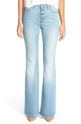 Women's Treasure And Bond High Rise Flare Jeans Legacy Light Vintage