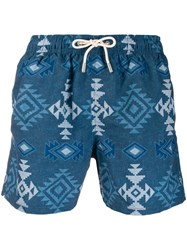 Mc2 Saint Barth Banyador Trunks Blue