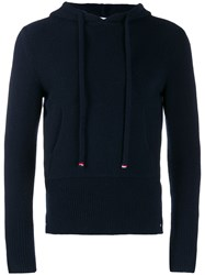 Thom Browne Navy Over Washed Hoodie Pullover 60