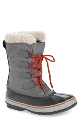 Sorel Men's '1964 Pac' Snow Boot Dark Fog Shark Grey