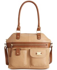 Styleandco. Style And Co. On The Go Satchel Only At Macy's Taupe