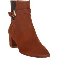 Gianvito Rossi Buckle Strap Ankle Boots Brown