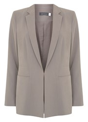 Mint Velvet Latte Tailored Blazer Neutral