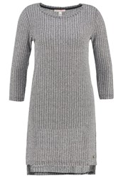Tom Tailor Denim Jumper Shale Grey Melange Anthracite