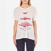 Wildfox Couture Women's The Tower Manchester T Shirt Alabaster White