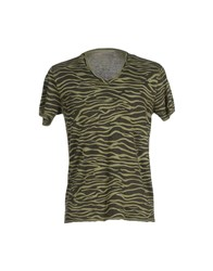 Jeordie's Topwear T Shirts Men Military Green