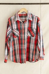 Urban Renewal Vintage Big Mac Red Plaid Flannel Shirt Assorted