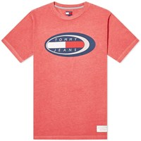 Tommy Jeans Summer Oval Tee Red