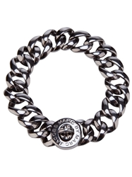 Marc By Marc Jacobs Chunky Chain Link Bracelet Grey