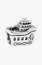 Pandora Design 'All Aboard' Bead Charm Silver