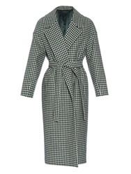 Mother Of Pearl Blair Checked Wool Coat