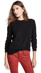 Bop Basics Boxy Cashmere Sweater Black